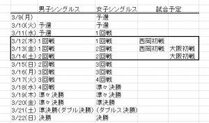 BNPパリバオープンの試合放送予定2020【大坂なおみはいつ?】